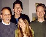 Jerry Gowen with Bob Williams, Jim Pace,  Julie Wilde and Paul Arntz
