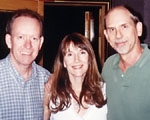Jerry, Julie Wilde and Jerry Roberson