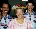 Jerry Gowen and Minnie Pearl