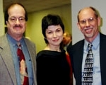Ed Barr, Katia Skanavi and Jerry Gowen